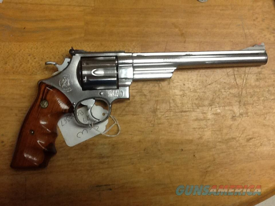 Rare smith & Wesson 629-2  8 3/8 factory ported & scope mounts stainless  Guns > Pistols > Smith & Wesson Revolvers > Model 629