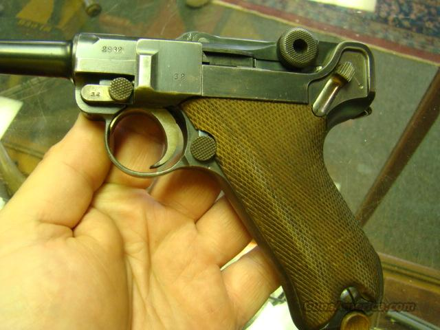 1916 WW1 DWM LUGER ALL MATCHING ALL ORIGL AND VERY CLEAN  Guns > Pistols > Luger Pistols