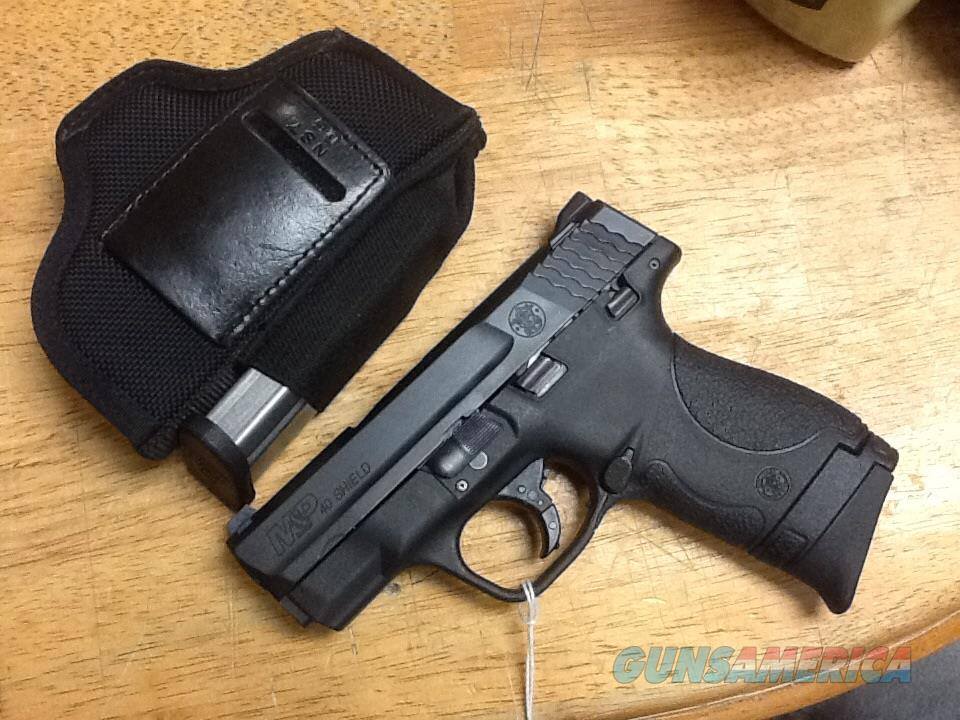 Mint fired 20 RDS. smith & Wesson m&p 40 shield thumb safety compact   Guns > Pistols > Smith & Wesson Pistols - Autos > Shield