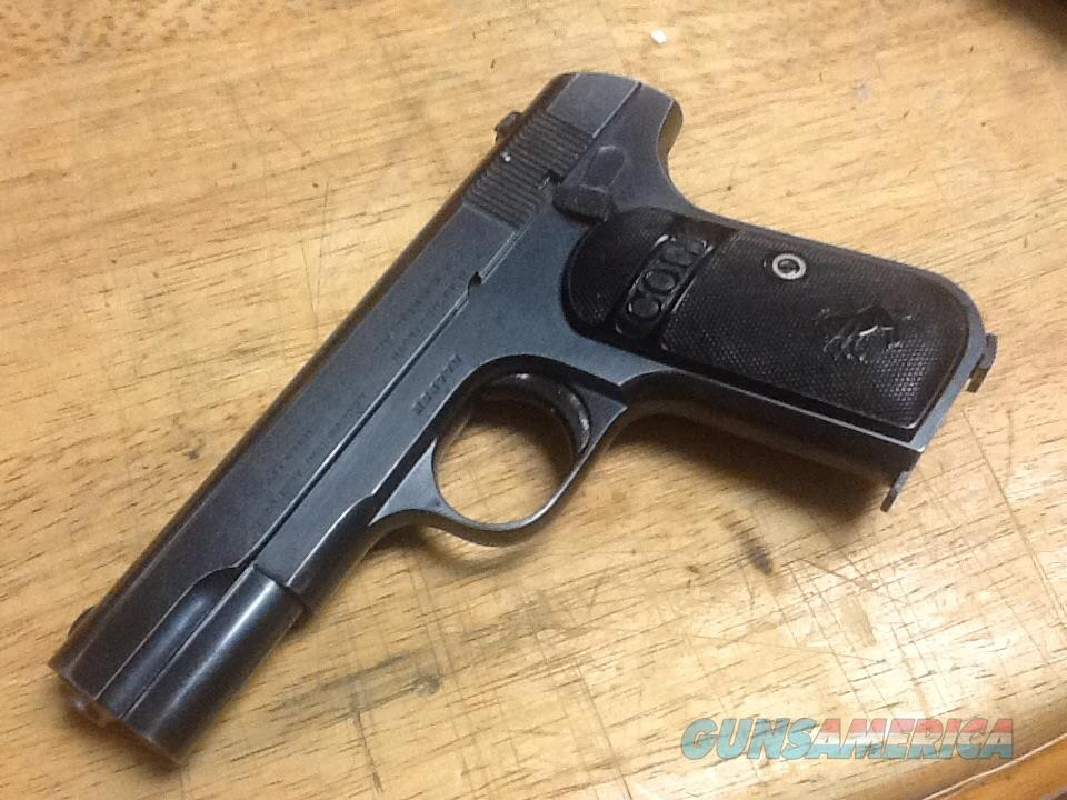 All ORIGL Colt model 1903 32 acp manf. 1919 in 95% cond  Guns > Pistols > Colt Automatic Pistols (.25, .32, & .380 cal)
