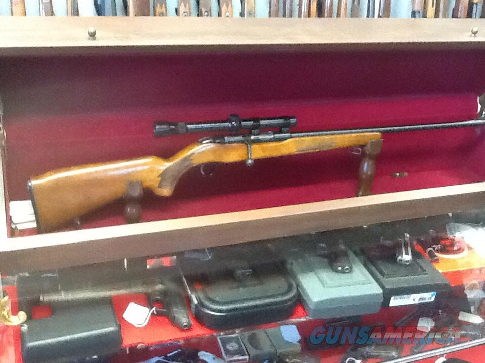 Very nice old MOSSBERG model 341b single shot 22 s-l-lr with 4x scope  Guns > Rifles > Mossberg Rifles > Other Bolt Action