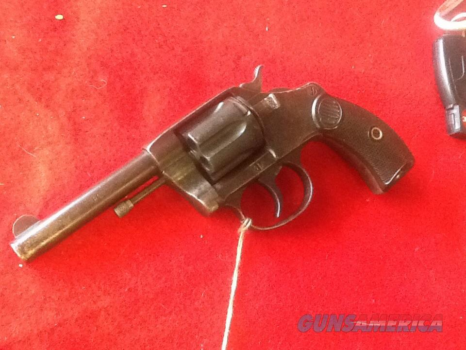 Nice ORIGL. Colt new pocket. Round butt.  police 32 s&w 3 1/2 in brl   Guns > Pistols > Colt Double Action Revolvers- Pre-1945