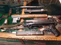 WW2 GERMAN MP 40 MACHINE GUN PARTS SET W/RECVR. TUBE  Guns > Rifles > Military Misc. Rifles Non-US > Other