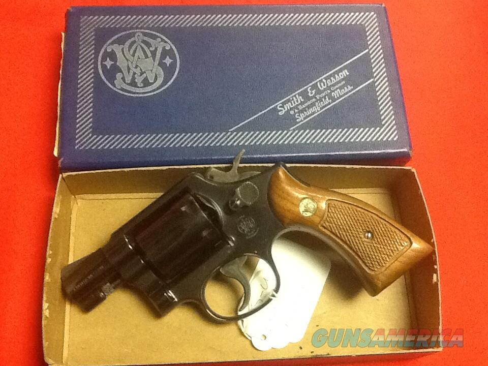 !!! UNFIRED in box manf 1977 S&W model 10-7  38 2in sqg butt   Guns > Pistols > Smith & Wesson Revolvers > Model 10