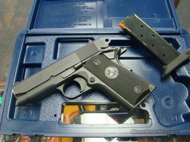 COLT 1991 OFFICERS IN BOX 1911 STYLE   Guns > Pistols > Colt Automatic Pistols (1911 & Var)