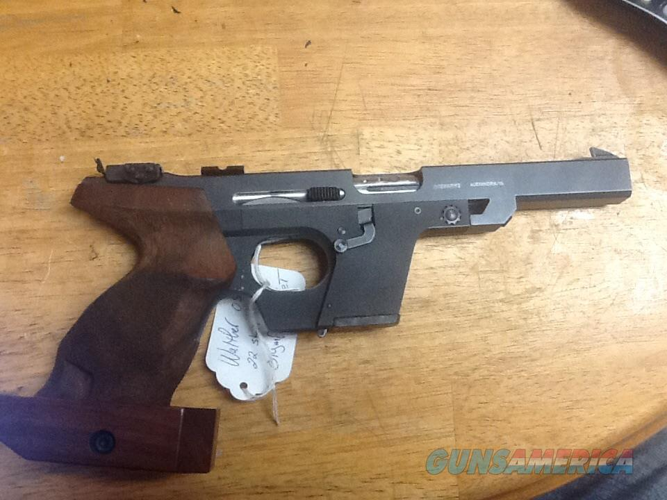 Beautiful walther osp 22 short Olympic target gun ported with adj grips  Guns > Pistols > Walther Pistols > Post WWII > Target Pistols