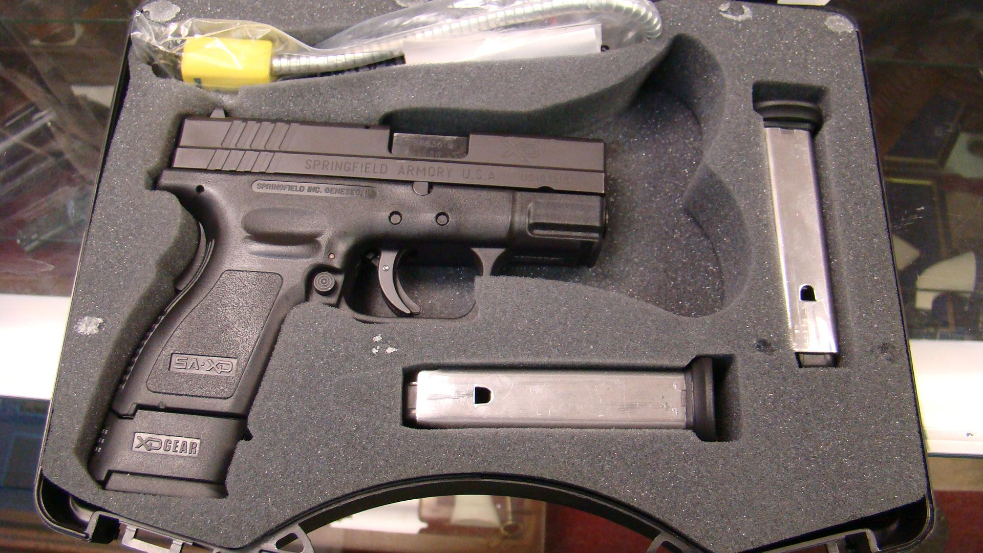 SPRINGFIELD XD 40 SUB COMPACT  40 SW CAL  Guns > Pistols > Springfield Armory Pistols > XD (eXtreme Duty)