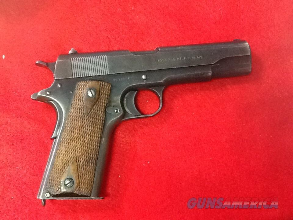 Ww1 vet bring back 1917 manf colt 1911 us property all ORIGL. And all correct untouched  Guns > Pistols > Colt Automatic Pistols (1911 & Var)