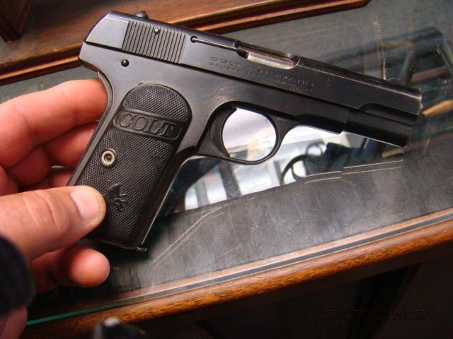 VERY NICE COLT MODEL 1903 HAMMERLESS 380 ACP CAL ALL ORIGL.  Guns > Pistols > Colt Automatic Pistols (.25, .32, & .380 cal)