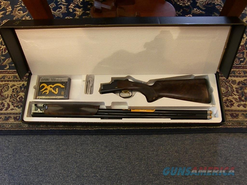 "Browning """"NEW"" 725 S3 Black Edition 12ga. 32"" Sporting Clays  Guns > Shotguns > Browning Shotguns > Over Unders > Citori > Trap/Skeet"