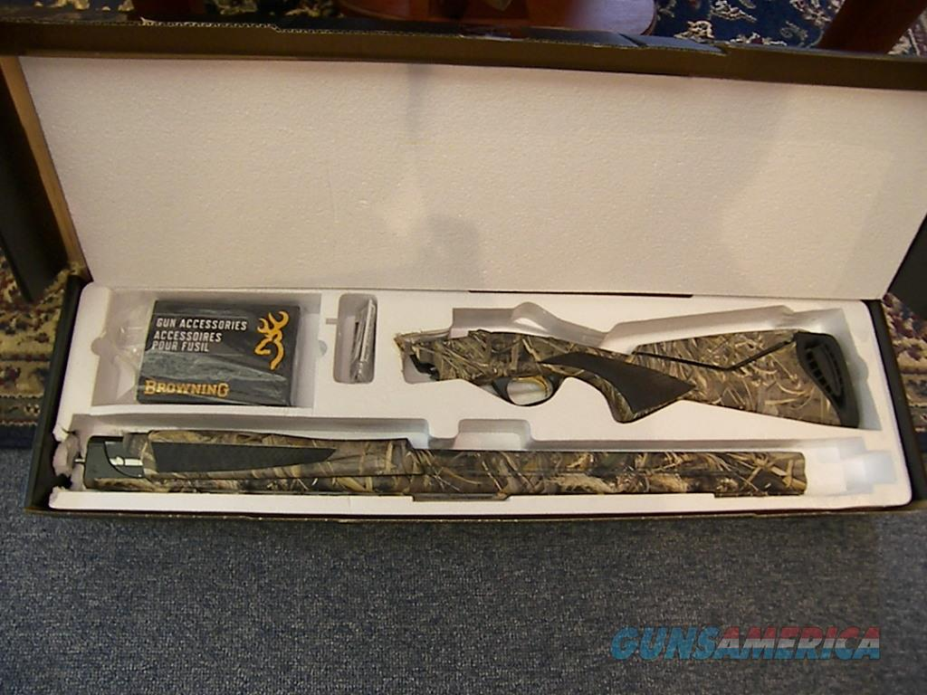 "Browning Cynergy Realtree Max-5 Camo 12ga. 30"" 3.5""  shotgun  Guns > Shotguns > Browning Shotguns > Over Unders > Cynergy > Hunting"