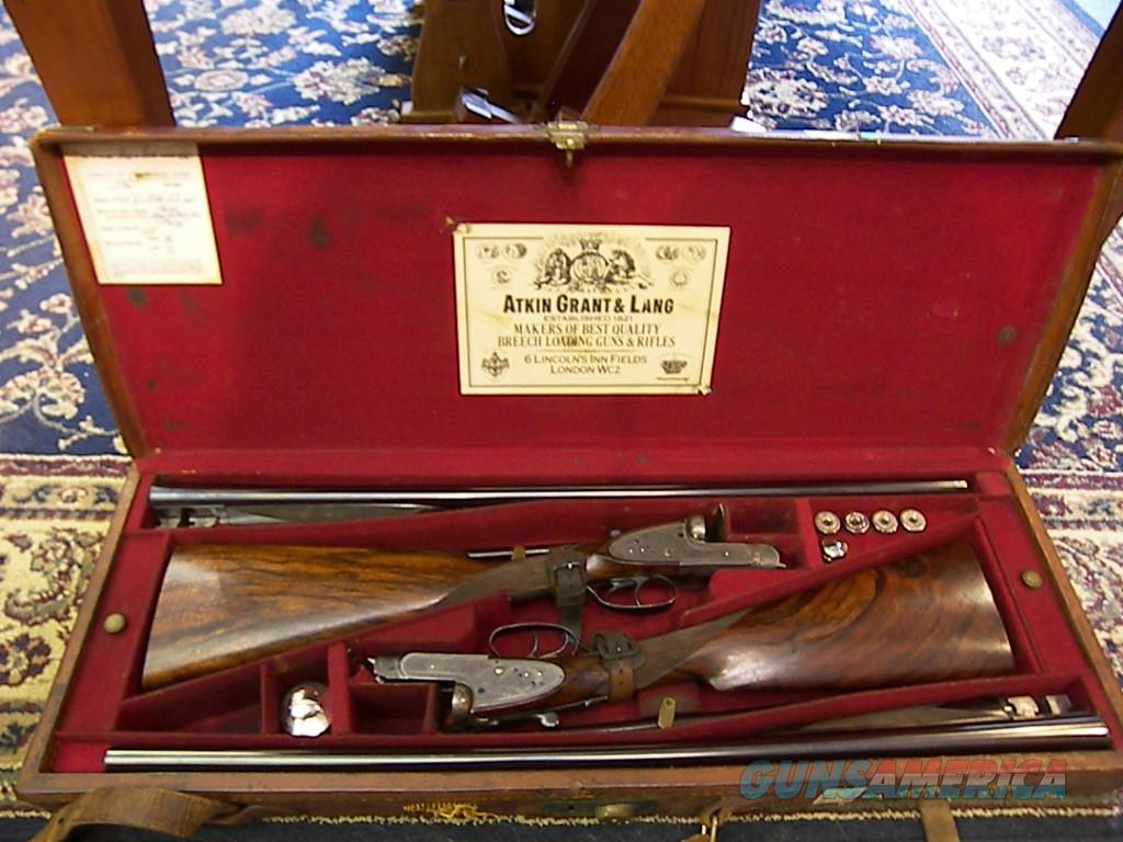 Henry Atkins (from Purdey's) Matched Pair of sidelock doubles  Guns > Shotguns > H Misc Shotguns