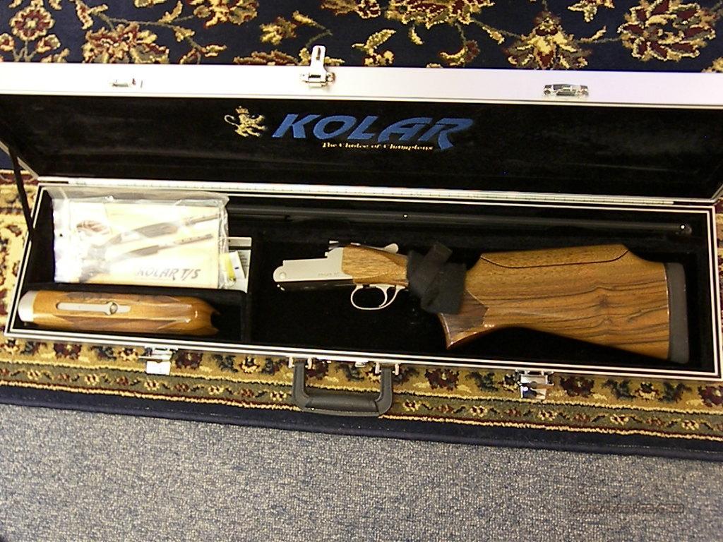"""Kolar T/S 34"""" Trap Single gun  Guns > Shotguns > Kolar Shotguns"""