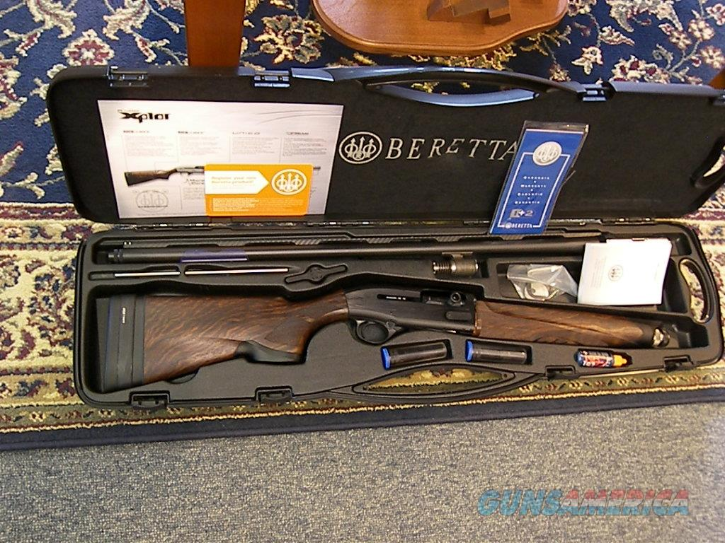 "Beretta A-400 ""NEW"" Xcel Black Edition 12ga. 30"" auto  Guns > Shotguns > Beretta Shotguns > Autoloaders > Trap/Skeet"