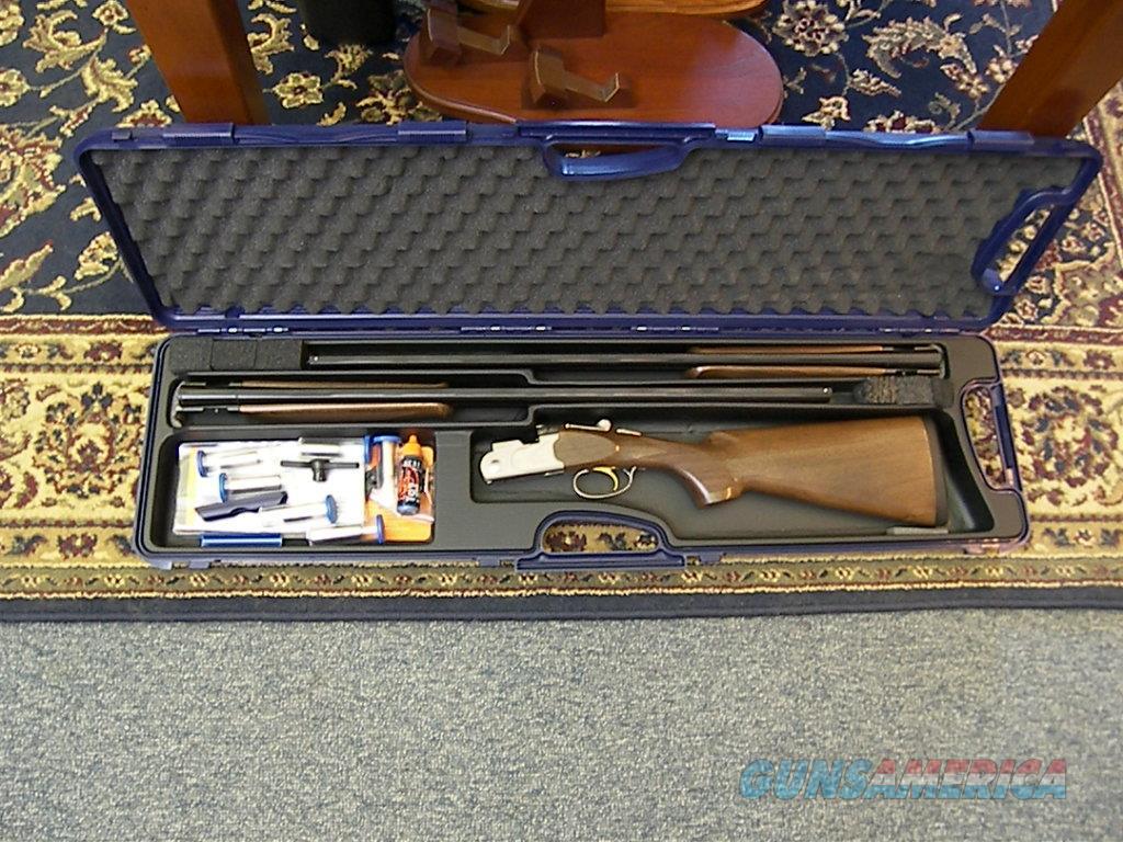 "Beretta 686 Silver Pigeon I 20ga./28ga. 28"" combo set  Guns > Shotguns > Beretta Shotguns > O/U > Hunting"