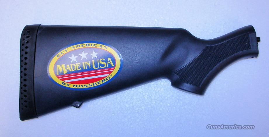 MOSSBERG SYNTHETIC BUTT STOCK   *** FACTORY OEM NEW   ***   $49.00 WITH FREE SHIPPING!!!! CREDIT CARD SAME AS CASH!!!!  Guns > Shotguns > Mossberg Shotguns > Pump > Sporting