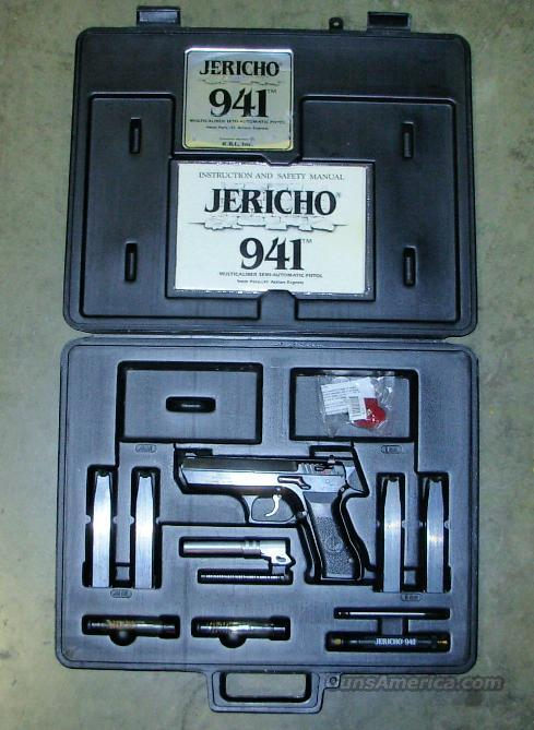 JERICHO 941  *** 9MM/.41AE PISTOL PACKAGE  Guns > Pistols > IMI Pistols