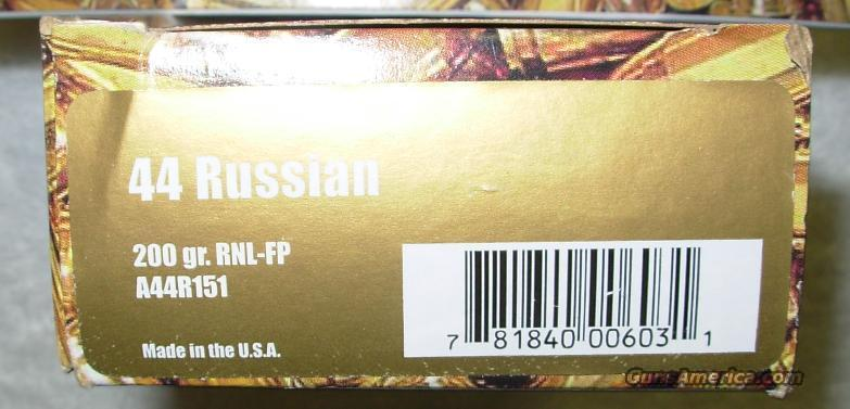 .44 RUSSIAN * FACTORY NEW AMMUNITION *** $50.00 WITH FREE SHIPPING!!!! CREDIT CARD SAME AS CASH!!!!  Non-Guns > Ammunition