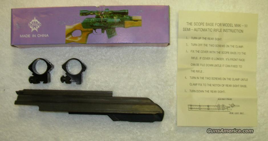 AK-47 SCOPE MOUNT  **  FACTORY OEM PART ** $50.00 *** WITH FREE SHIPPING!!!! CREDIT CARD SAME AS CASH!!!!  Guns > Rifles > Norinco Rifles