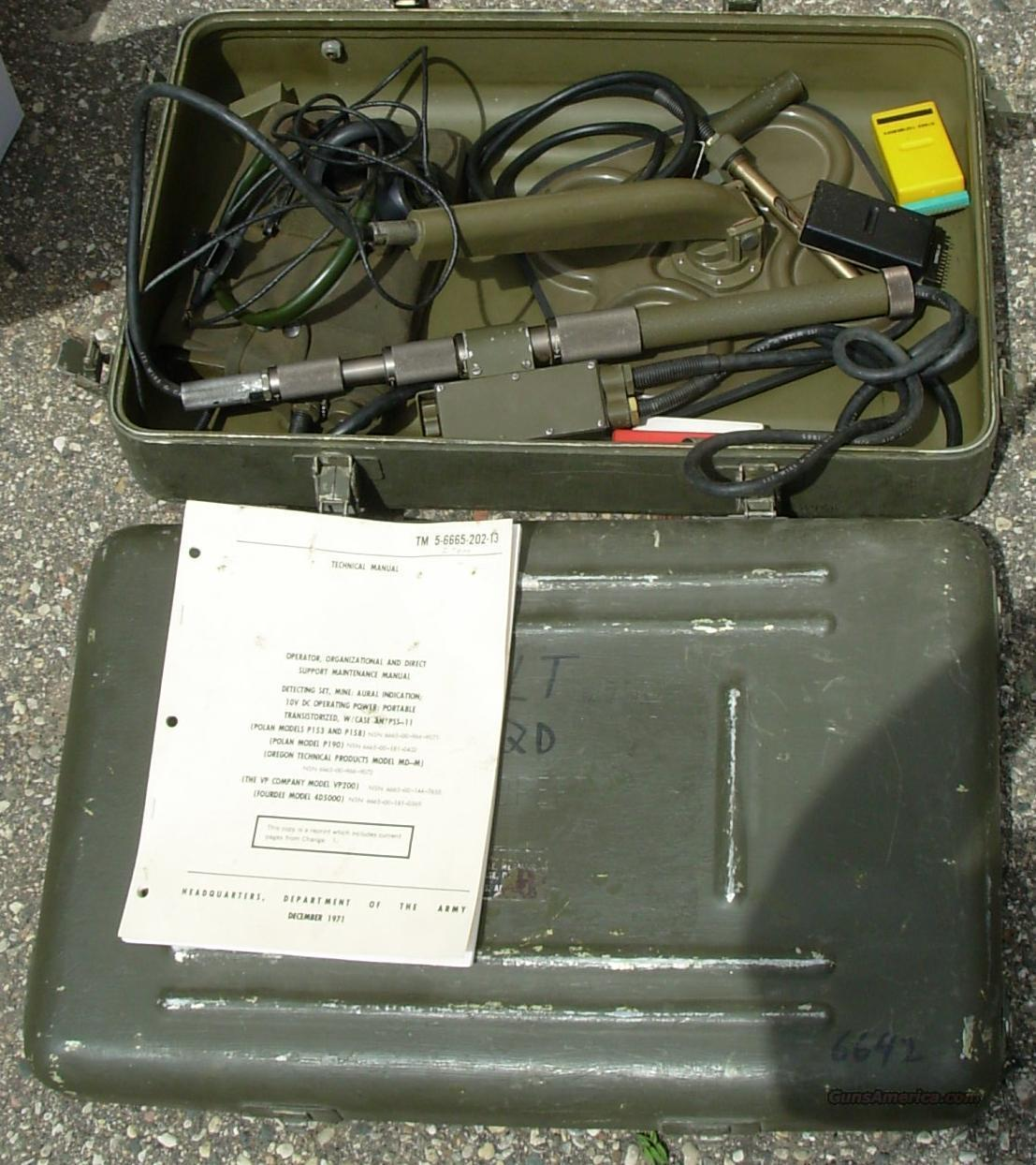 US GI MINE SWEEPER  **  $299.00  Non-Guns > Military > Surplus Misc