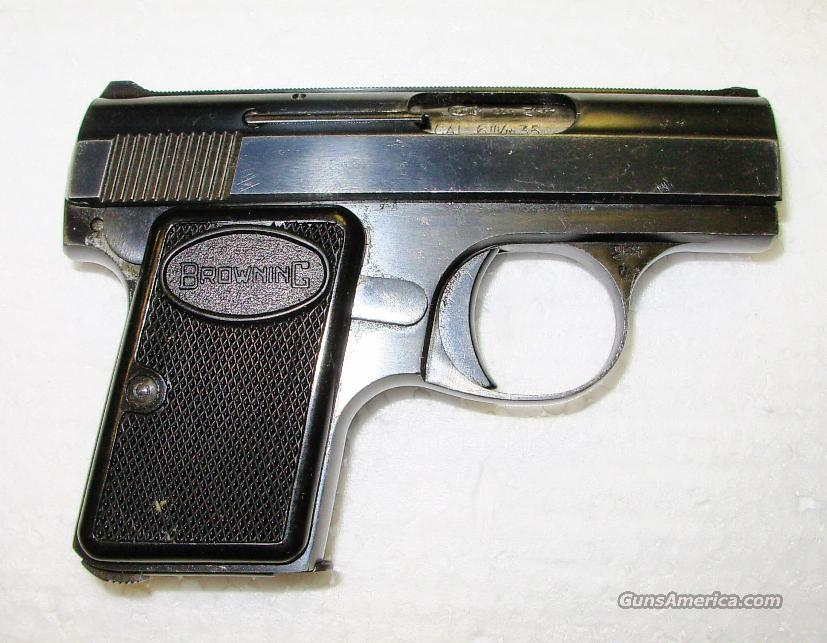 BABY BROWNING  **  MADE IN 1965  **  $599.00  Guns > Pistols > Browning Pistols > Baby Browning