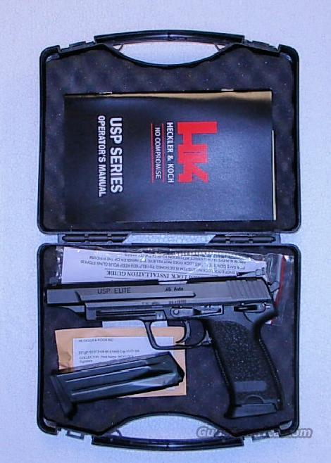 ELITE  ** HECKLER & KOCH USP ** NEW IN BOX ** $1999.00  Guns > Pistols > Heckler & Koch Pistols > Polymer Frame