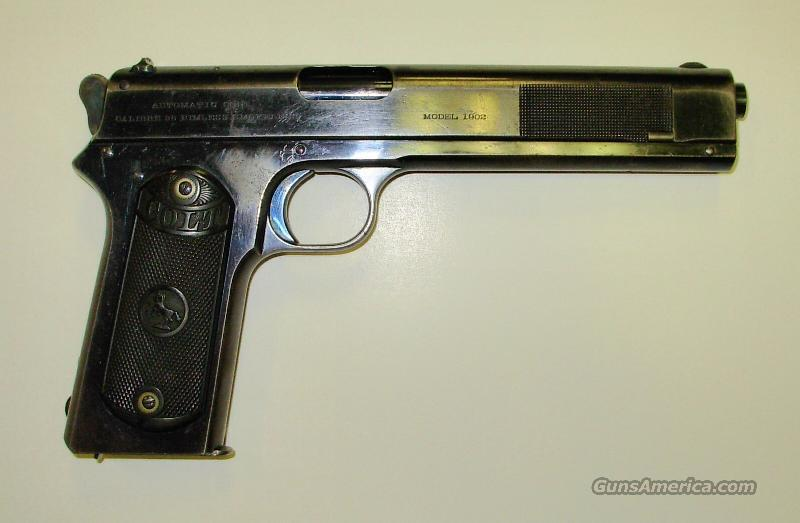 1902 MILITARY ** FIRST YEAR PRODUCTION ** $3800.00  Guns > Pistols > Military Misc. Pistols US > 1911 Pattern