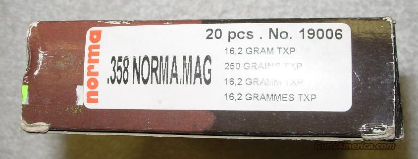 .358 NORMA MAG * NEW IN BOX  Non-Guns > Ammunition