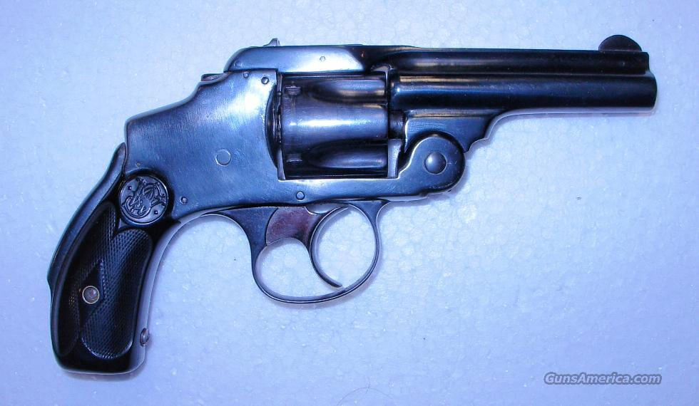 .32 SAFETY HAMMERLESS FIRST MODEL (LEMON SQUEEZER)  **  $399.00  Guns > Pistols > Smith & Wesson Revolvers > Pre-1899