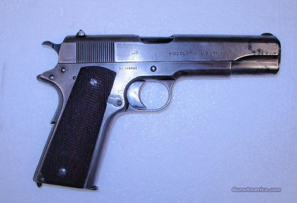 1911  **  MADE IN 1918  **  $1099.00  Guns > Pistols > Military Misc. Pistols US > 1911 Pattern