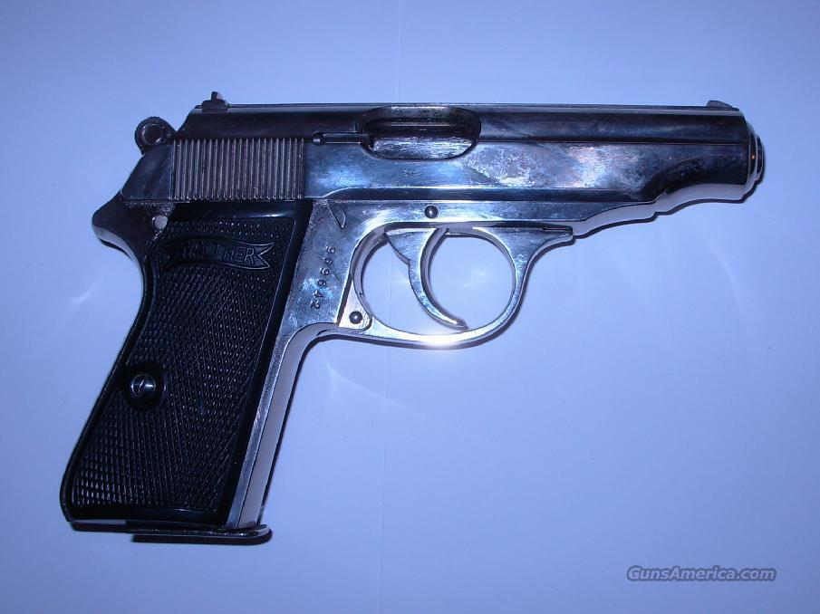 PP  *** SCARCE NICKEL FINISH  ***  $1199.00  Guns > Pistols > Walther Pistols > Pre-1945 > PP