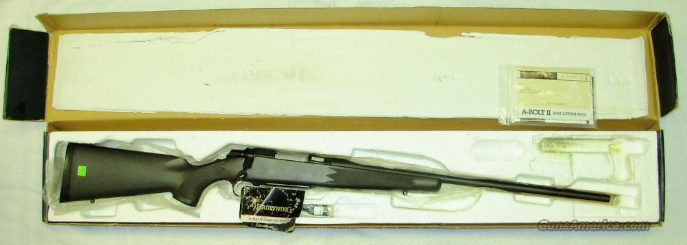 7MM WSM *** COMPOSITE STALKER  ***  NEW IN BOX  ***  $699.00  Guns > Rifles > Browning Rifles > Bolt Action > Hunting > Blue