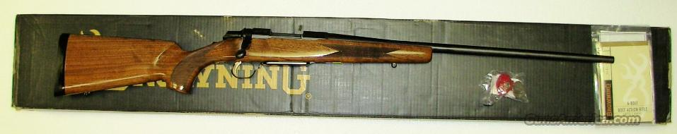 A BOLT II  **  .223 WSSM  **  NEW IN BOX  **  $619.00  Guns > Rifles > Browning Rifles > Bolt Action > Hunting > Blue