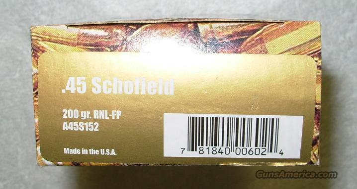 .45 SCHOFIELD * FACTORY NEW *** $50.00 WITH FREE SHIPPING!!!! CREDIT CARD SAME AS CASH!!!!  Guns > Pistols > Smith & Wesson Revolvers > Pre-1945
