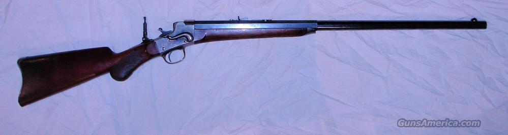HEPBURN  No.3  Guns > Rifles > Remington Rifles - Pre-1899