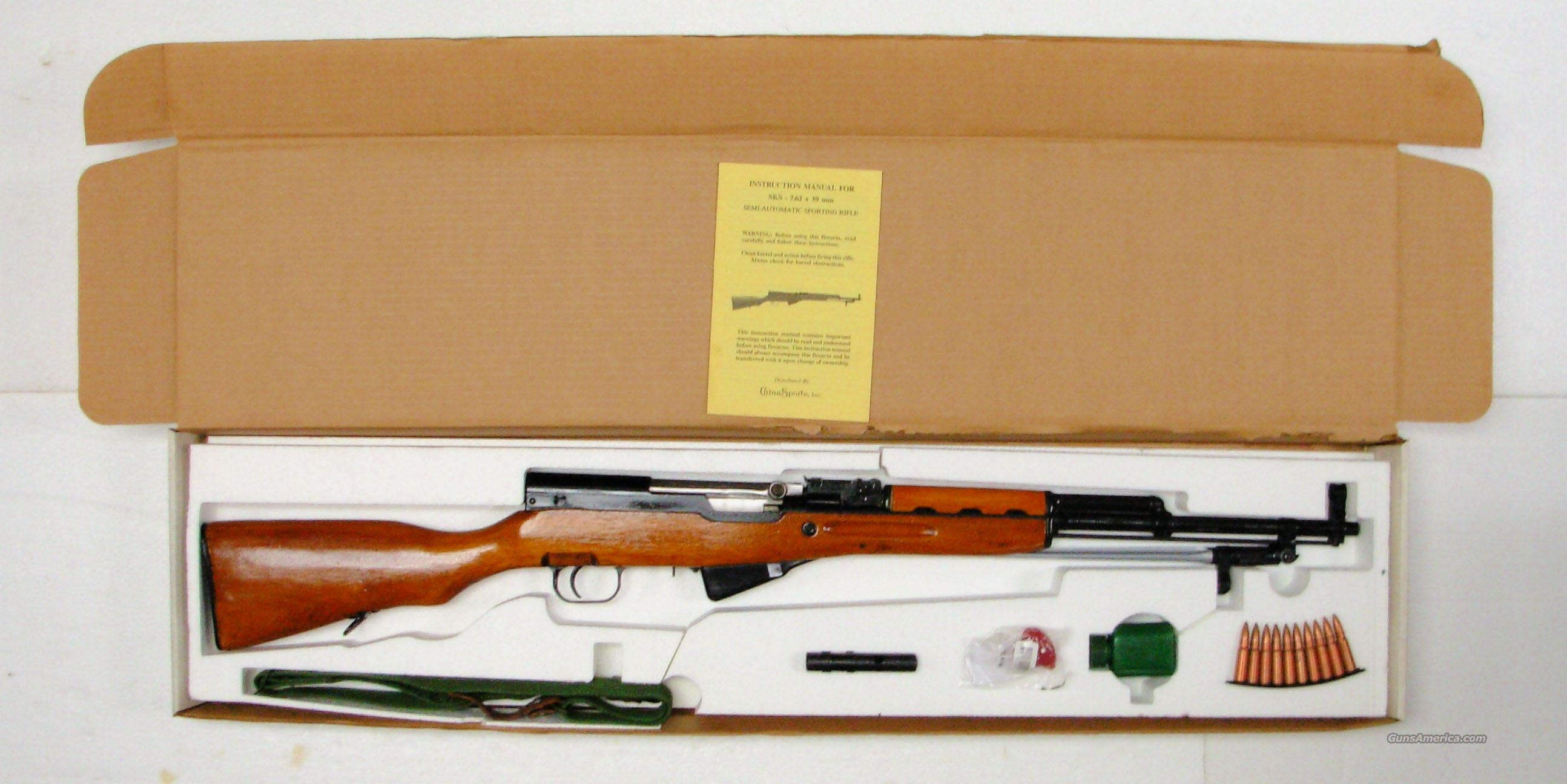VINTAGE 1980's *** ORIGINAL SKS PACKAGE *** $499.00 WITH FREE SHIPPING!!!  Guns > Rifles > Norinco Rifles