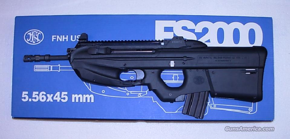 FS2000  **  NEWIN BOX  **  $2999.00  Guns > Rifles > FNH - Fabrique Nationale (FN) Rifles > Semi-auto > Other