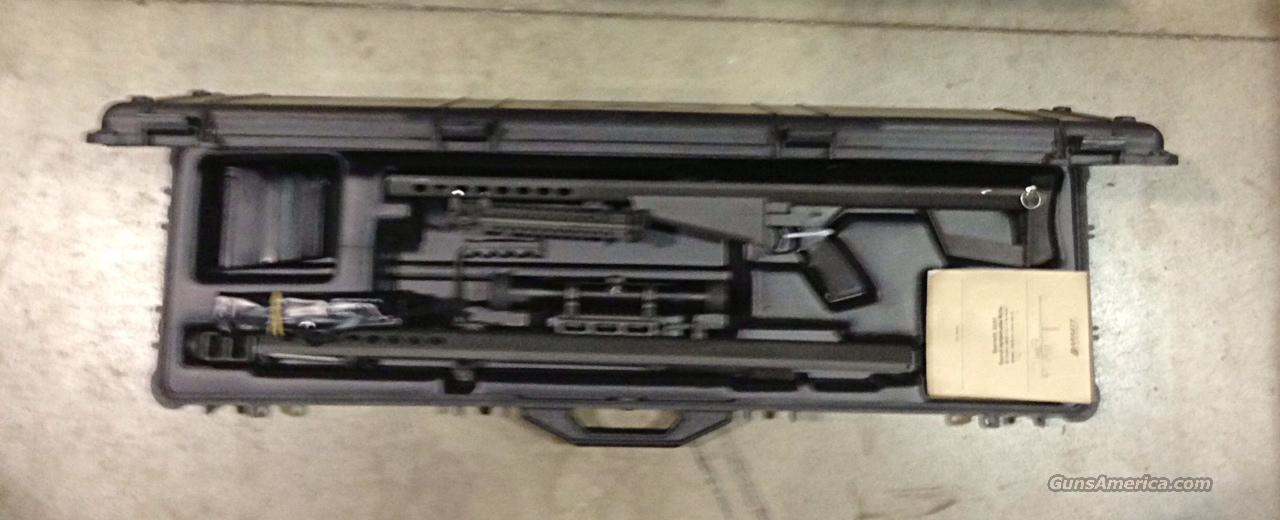 82A1  ***  WITH SWAROVSKI BARRETT OPTICS  ***  $11,999.00    Guns > Rifles > Barrett Rifles
