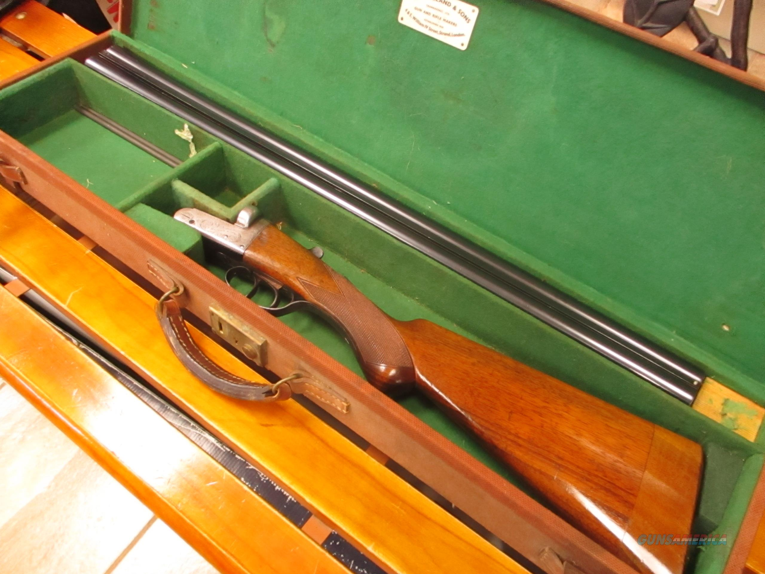 "Thomas Bland BLE 12 GA 28""  Guns > Shotguns > Double Shotguns (Misc.)  > English"