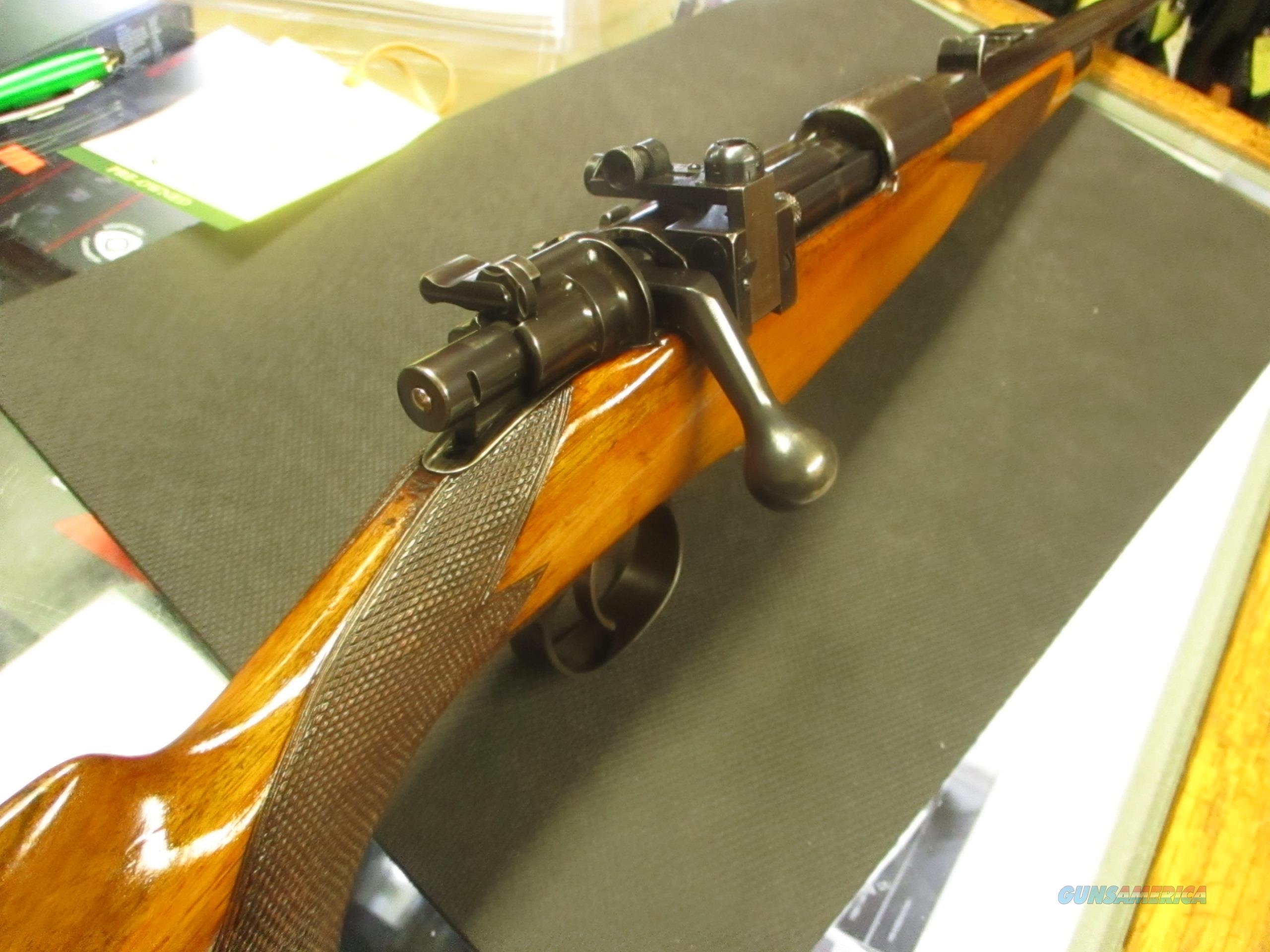 Westley Richards 98 Express 3-leaf ladder sight 7x57 Mauser  Guns > Rifles > Westley Richards Rifles