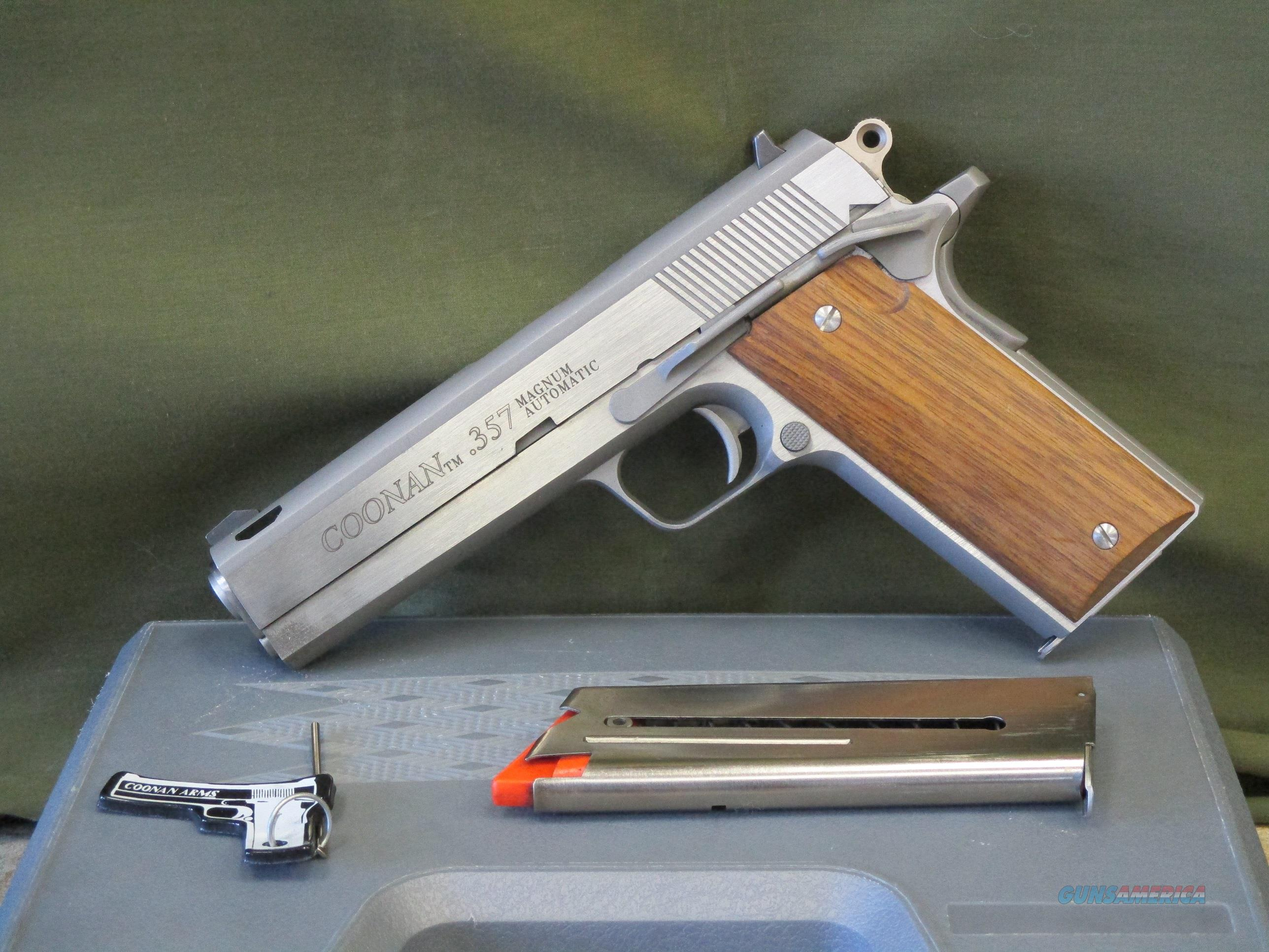 Coonan Classic 357 Magnum Auto 1911 Early Ported Model K&B  Guns > Pistols > Coonan Arms Pistols
