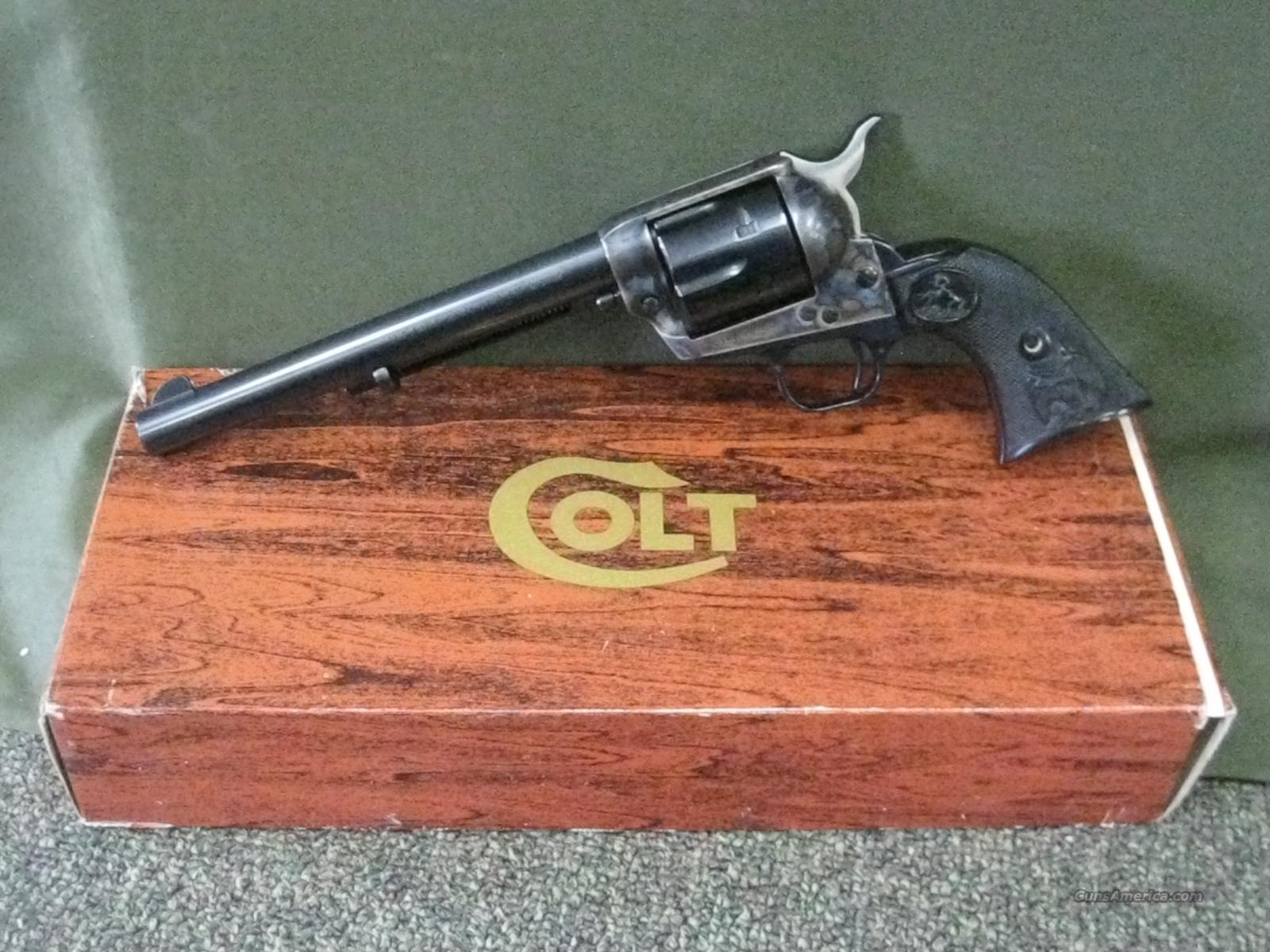 Colt SAA 357 Third Gen NIB UNFIRED  Guns > Pistols > Colt Single Action Revolvers - 3rd Gen.