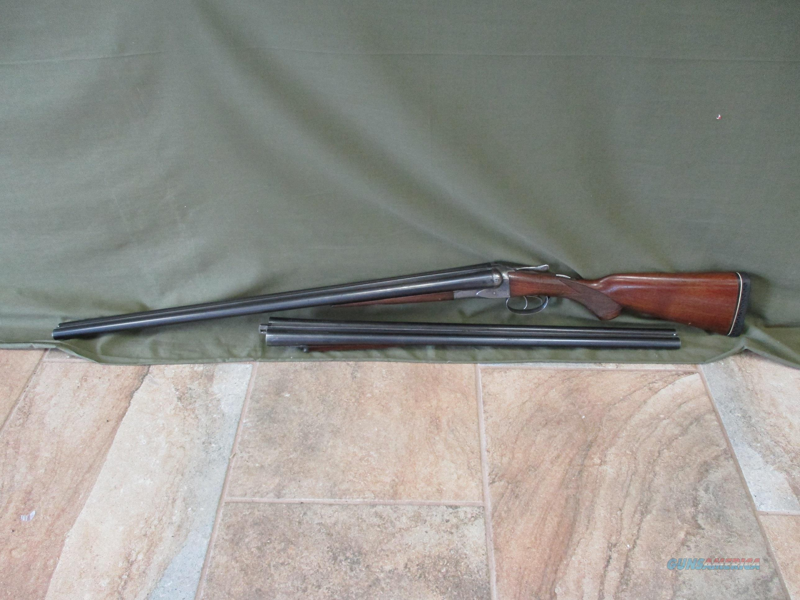 Fox Sterlingworth 16ga Two Barrel Set, Very Tight & Solid Gun  Guns > Shotguns > Fox Shotguns