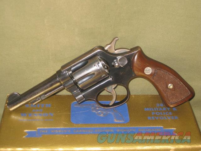 Smith & Wesson Military & Police 38 Spl with Gold Box  Guns > Pistols > Smith & Wesson Revolvers > Med. Frame ( K/L )