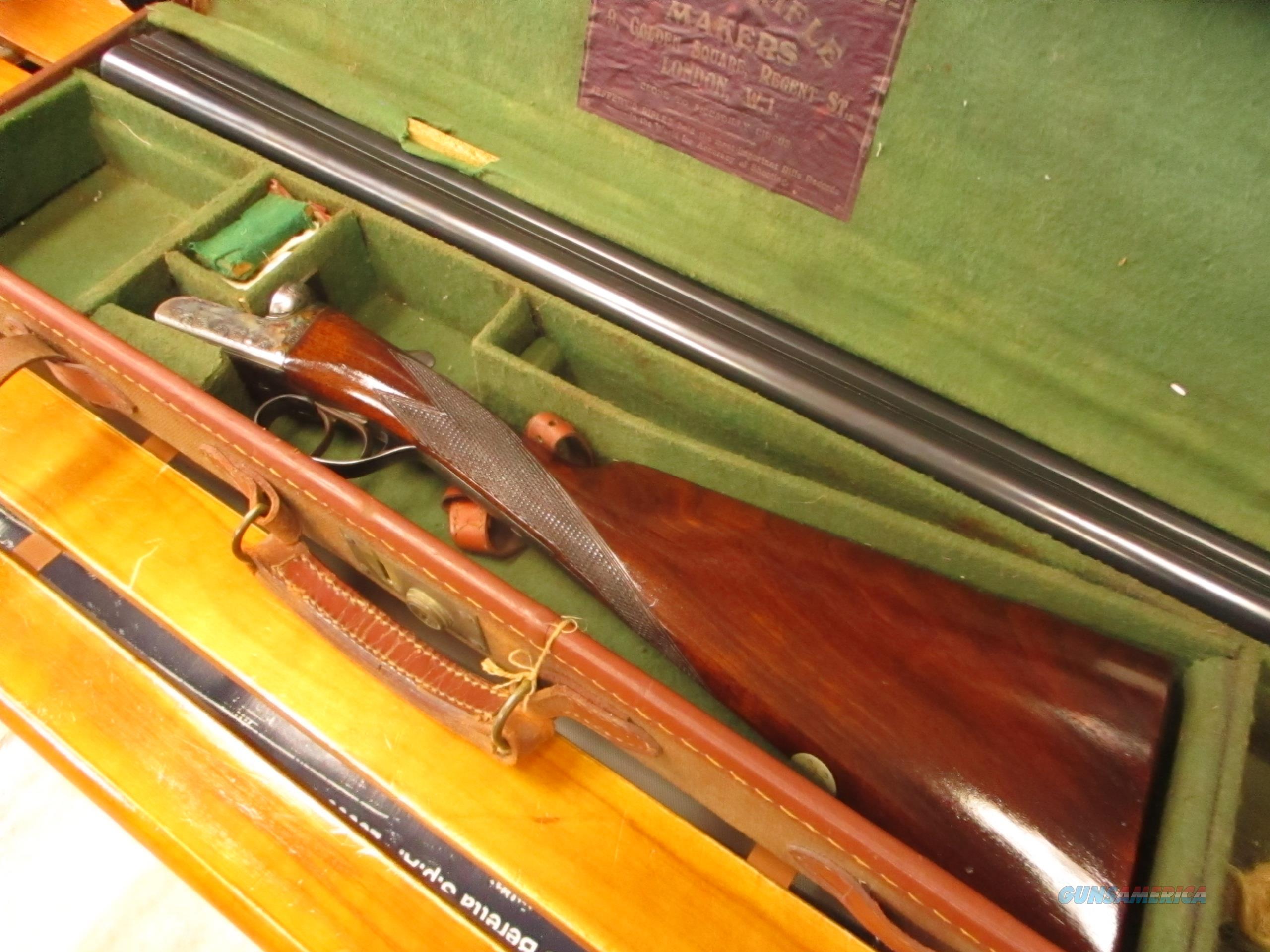 """Webley & Scott 700 12 GA 28""""  Guns > Shotguns > Double Shotguns (Misc.)  > English"""