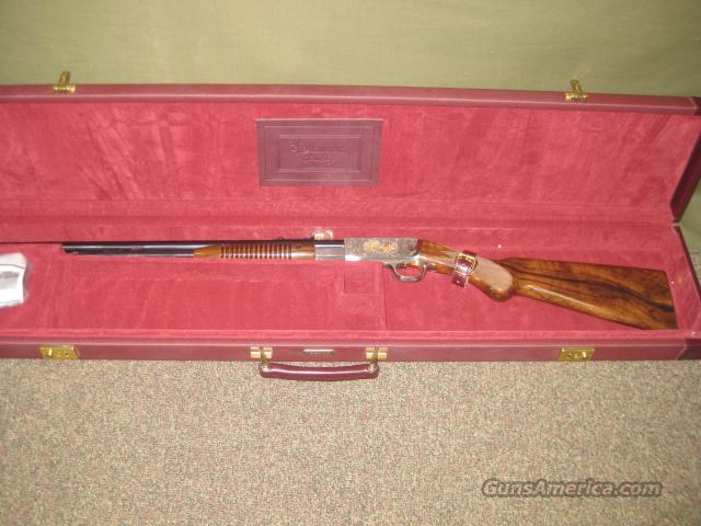 "Browning ""Trombone"" Grade IV 22LR NEW IN CASE C.Perfido  Guns > Rifles > Browning Rifles > Pump Action"