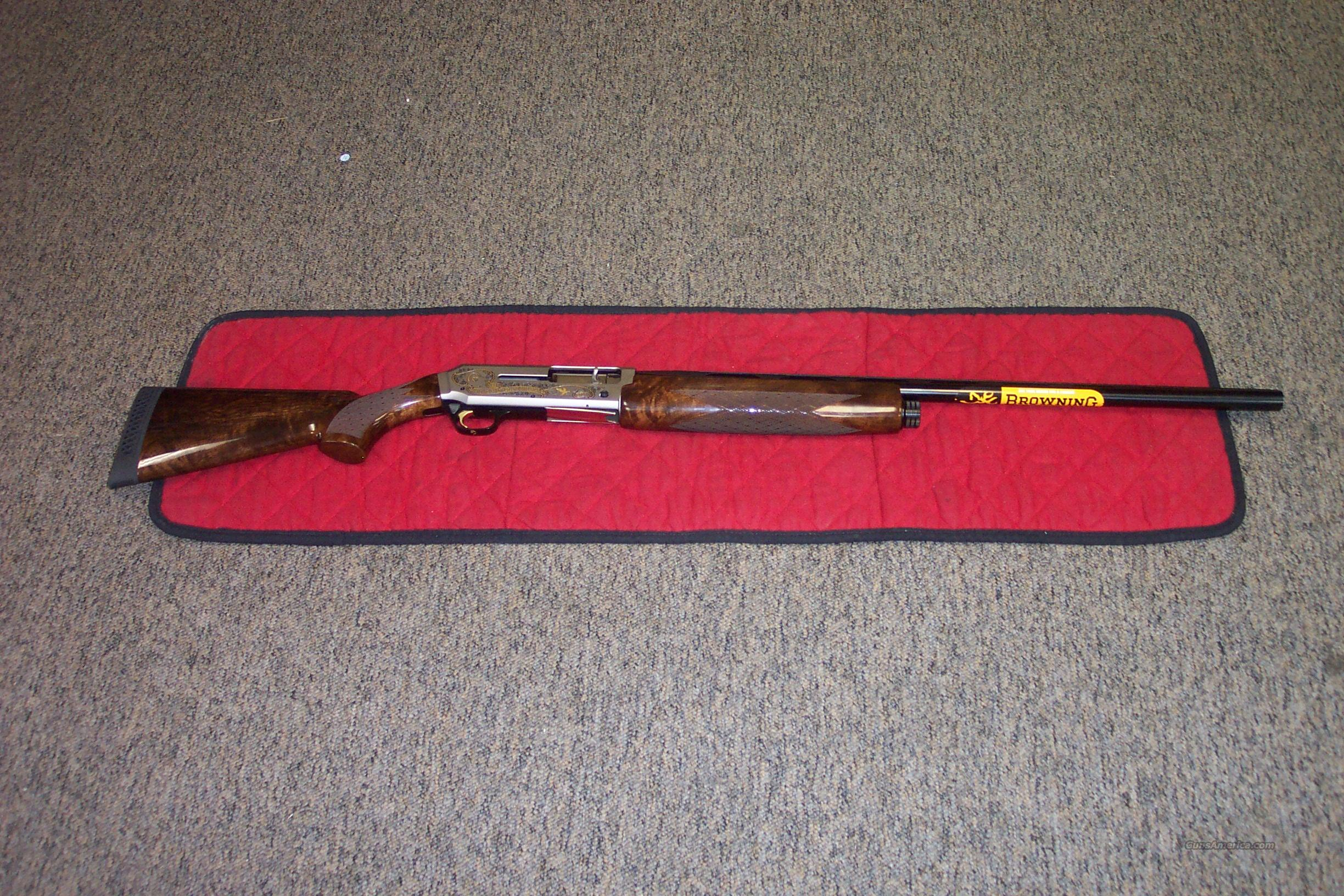 Browning Silver Hunter D/U 70th Anniv. 12ga  Guns > Shotguns > Browning Shotguns > Autoloaders > Hunting