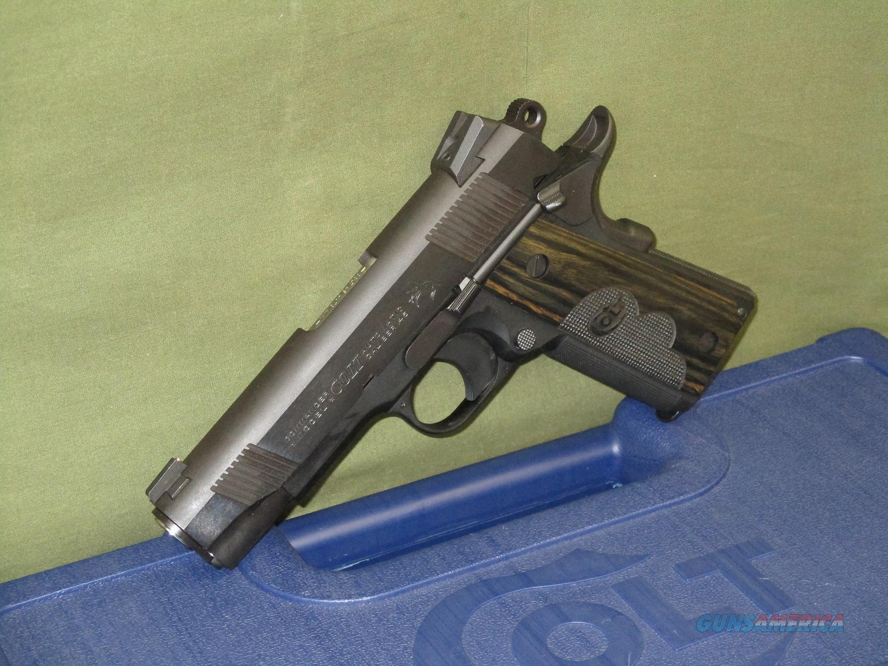 Colt 1911 Commander Wiley Clapp .45 ACP New In Box, Unfired  Guns > Pistols > Colt Automatic Pistols (1911 & Var)