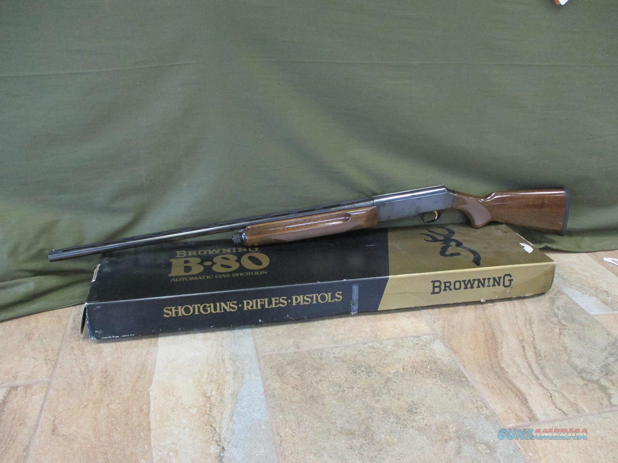 """Browning B-80 20Ga 28""""  Guns > Shotguns > Browning Shotguns > Autoloaders > Hunting"""