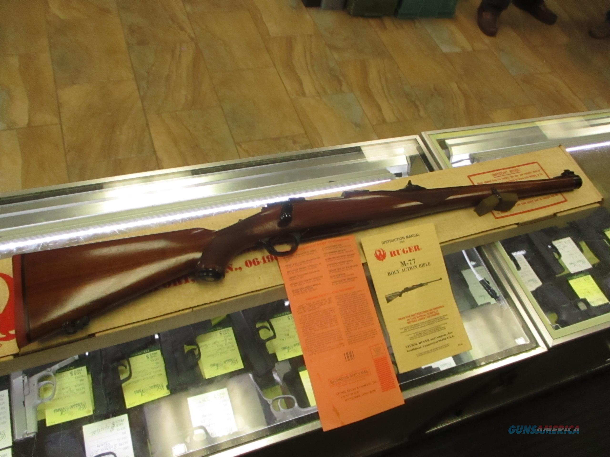 NIB Ruger M77 International Tang Safety .250 Savage  Guns > Rifles > Ruger Rifles > Model 77